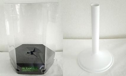 パッケージBOX(六角形)+スタンド